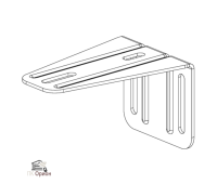 Кронштейн SGN.02.718 для откатных (сдвижных) ворот