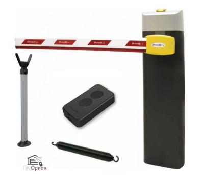 Шлагбаум автоматический DOORHAN BARRIER N-6000, комплект: стойка Barrier-N, стрела, опора, пульт, пружина