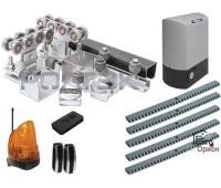 Комплектующие для откатных (сдвижных) ворот весом до 500 кг или шириной до 4 м (набор-комплект) с комплектом автоматики DOORHAN SL-800KIT