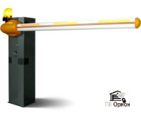 Тумба шлагбаума с приводом и блоком управления. Класс защиты IP54.