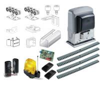 Комплектующие для откатных (сдвижных) ворот весом до 300 кг или шириной до 4м (набор-комплект) с комплектом автоматики CAME BX-243 FULL