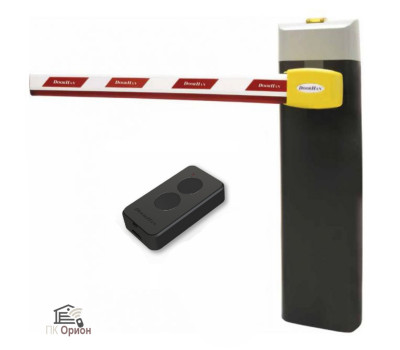 Шлагбаум автоматический DOORHAN BARRIER N-4000, комплект: стойка Barrier-N, стрела, пульт